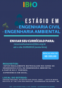 Estágio - Eng. Civil e Ambiental